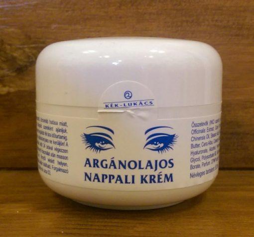 Argán-olajas arckrém - Nappali