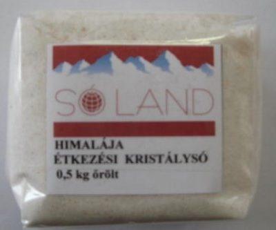 Himalájai só - őrölt