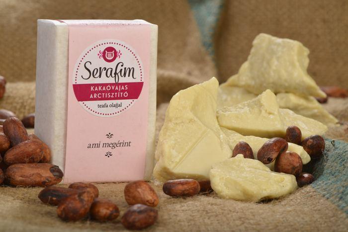 Kakaóvajas Arctisztító szappan teafaolajjal